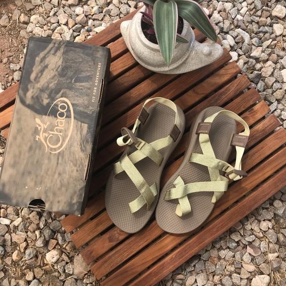 Chaco Shoes   Nib Metallic Gold Zcloud